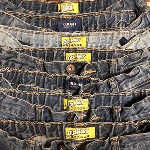 7 Boys Size 18 Blue Jeans
